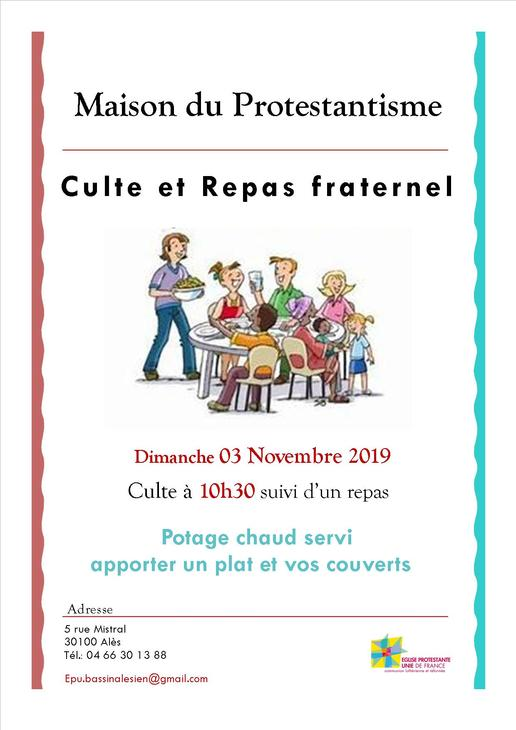 Repas fraternel 03.11
